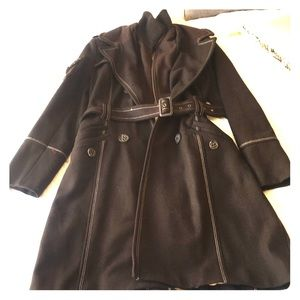 JLo pea coat cold weather jacket.